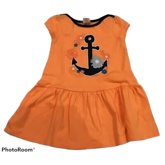 5/$25 Gymboree Orange Dress 18-24M